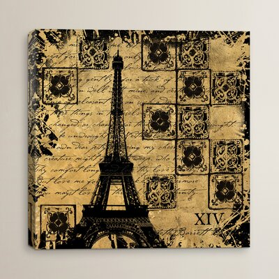 B&G Tour Eiffel Graphic Art on Canvas