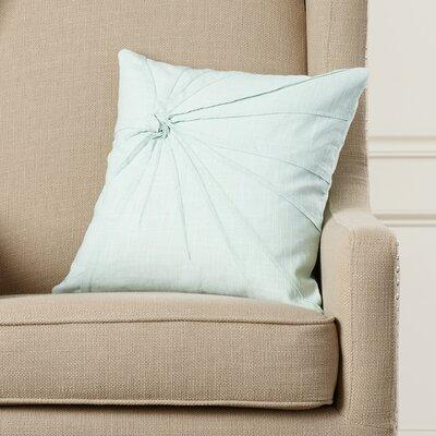 Ashburton Cotton Throw Pillow Color: Aqua