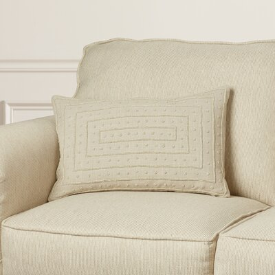 Donato Down Cotton Throw Pillow Color: Light Gray