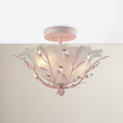 Dalia 2-Light Semi Flush Mount