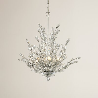 Ryde 6-Light Crystal Chandelier