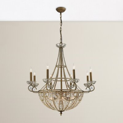 Goethe 14-Light Crystal Chandelier