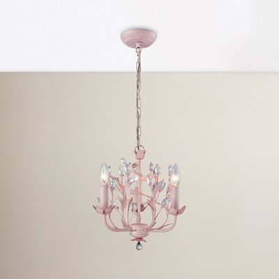 Dalia 3-Light Crystal Chandelier