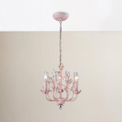 Dalia 3-Light Crystal Chandelier