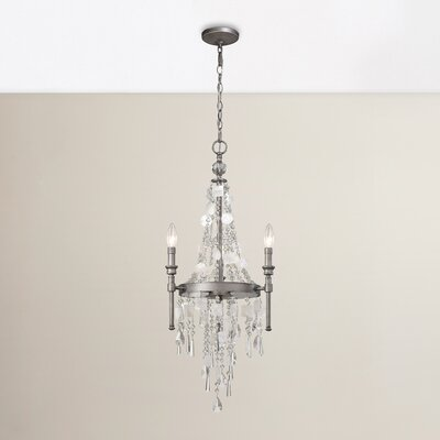 Reid 3-Light Crystal Chandelier
