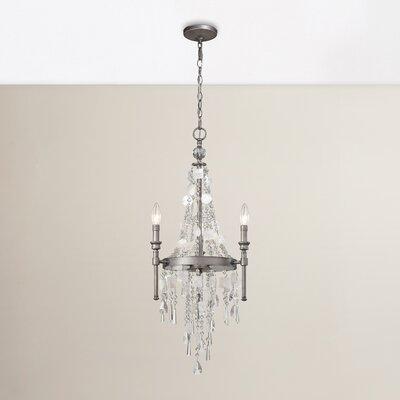 Reid 3-Light Crystal Chandelier
