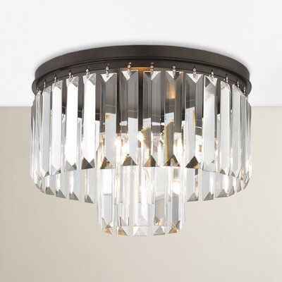 Hinkle 1-Light Flush Mount