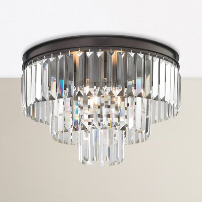 Hinkle 3-Light Semi Flush Mount
