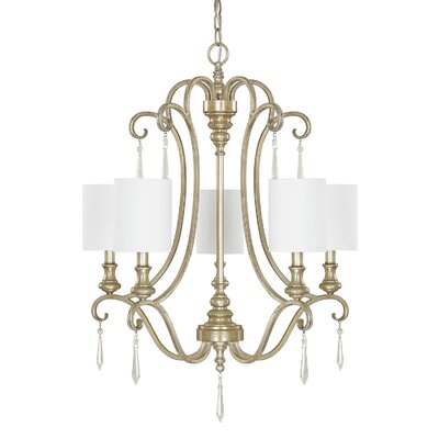 Montgomery 5-Light Shaded Chandelier