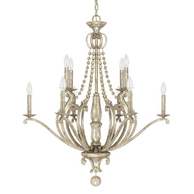 Edgard 10-Light Candle-Style Chandelier