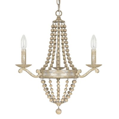 Edgard 3-Light Candle-Style Chandelier