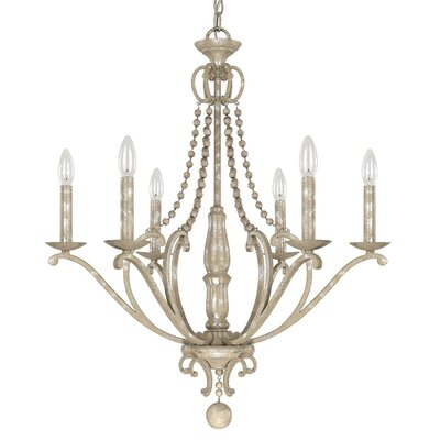 Edgard 6-Light Candle-Style Chandelier
