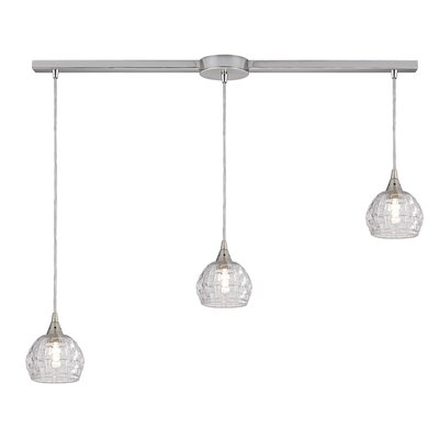 Ventnor 3-Light Kitchen Island Pendant