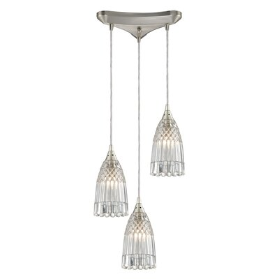 Ventnor 3-Light Cascade Pendant