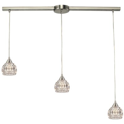 Appleton 3-Light Kitchen Island Pendant