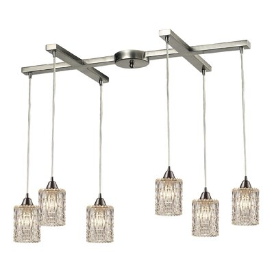 Ventnor 6-Light Kitchen Island Pendant