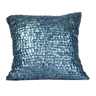 Vincent Throw Pillow Color: Dazzling Navy Blue