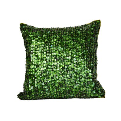 Vincent Throw Pillow Color: Bermuda Bay Green