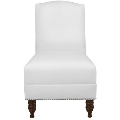 Thisnes Nail Button Side Chair Color: White