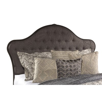 Briony Upholstered Panel Headboard Size: King