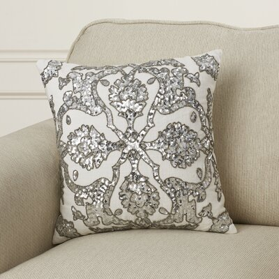 Forest Park Dawn Cotton Throw Pillow