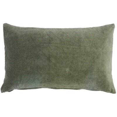 Northam Cotton Lumbar Pillow Color: Moss