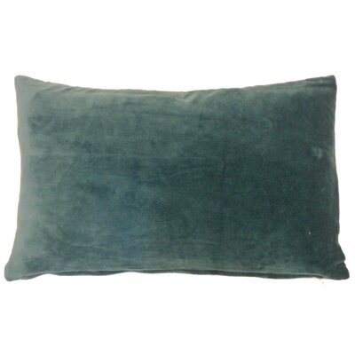 Northam Cotton Lumbar Pillow Color: Jade