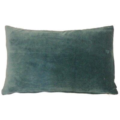 Northam Cotton Lumbar Pillow Color: Jade