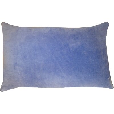 Northam Cotton Lumbar Pillow Color: Violet
