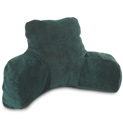 Bramma Reading Bed Rest Pillow Color: Marine