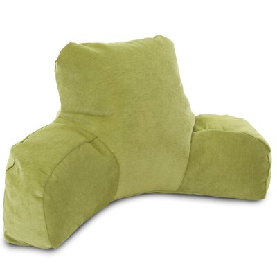 Bramma Reading Bed Rest Pillow Color: Apple - Green
