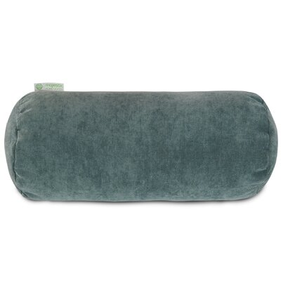 Edwards Bolster Pillow Color: Azure