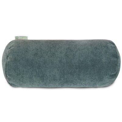 Bramma Polyester/Polyester Blend Bolster Pillow Color: Azure