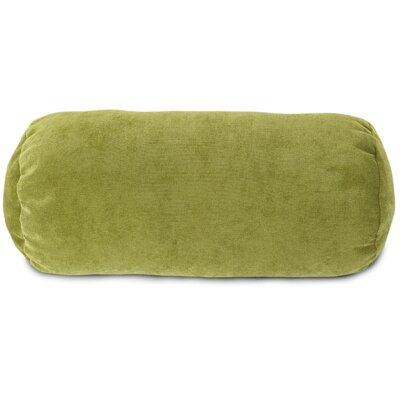 Edwards Bolster Pillow Color: Apple - Green