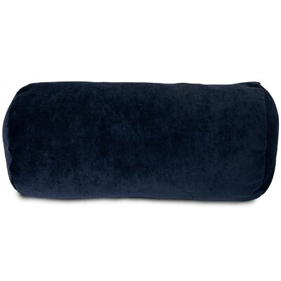 Edwards Bolster Pillow Color: Navy