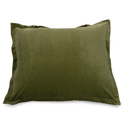 Bramma Synthetic Floor Pillow Color: Fern