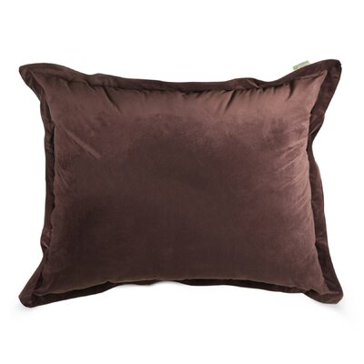 Edwards Floor Pillow Color: Dark Brown