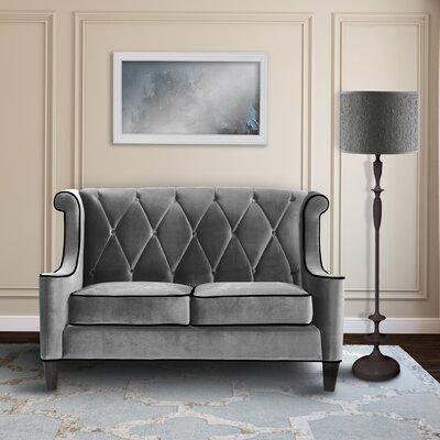 Willa Arlo Interiors WRLO3940 Carressa Velvet Loveseat Upholstery