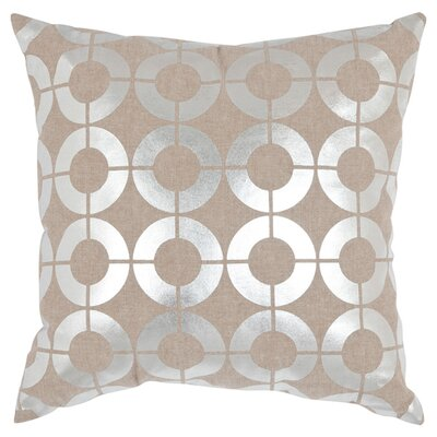 Regan Down Throw Pillow Size: 18 H x 18 W