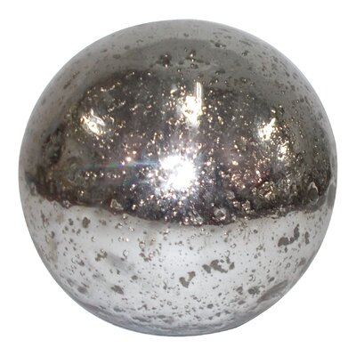 Glass Sphere Ball Size: 8