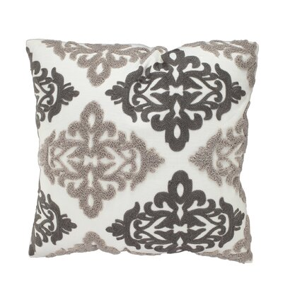 Overmere Embroidered Throw Pillow