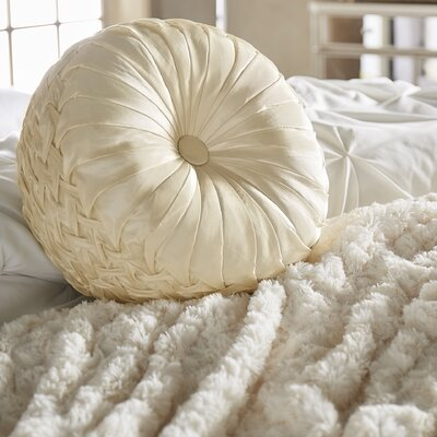Moreton-In-Marsh Throw Pillow Color: Champagne