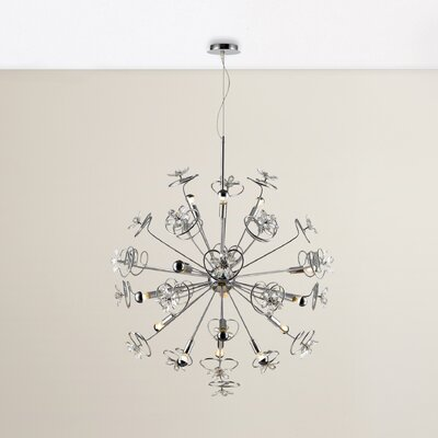 Layla 15 LED Integrated Blub Cluster Pendant