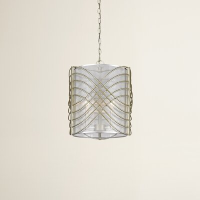 Gere 3-Light Drum Pendant