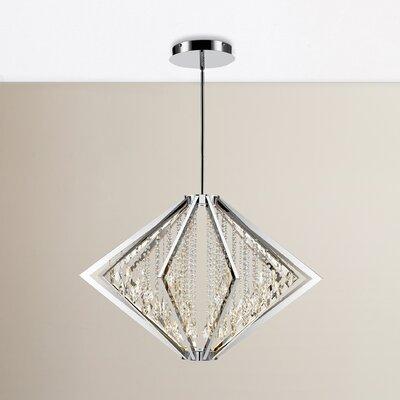 Rafaella LED Pendant Size: 26.5 H x 39.25 W x 39.25 D
