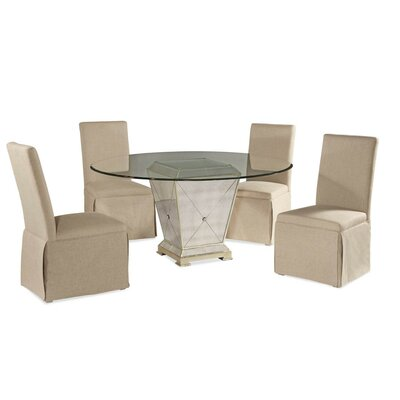 Roehl 5 Piece Round Dining Set