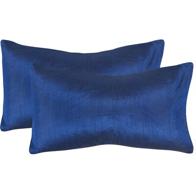 Rhea Lumbar Pillow Color: Cobalt Blue
