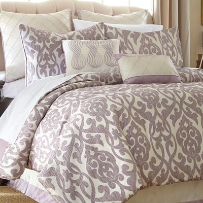 Lidia�dia 8 Piece Comforter Set Size: King