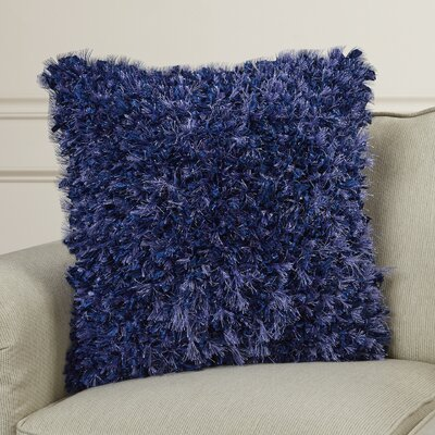 Sibylla Throw Pillow Color: Blue