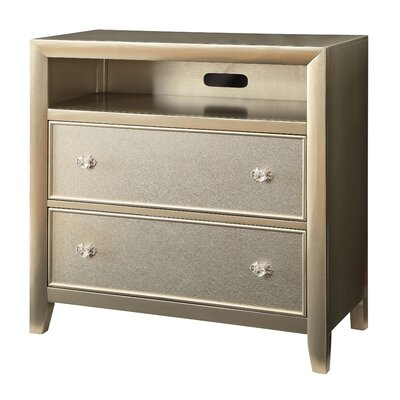 Herve 2 Drawer Media Chest